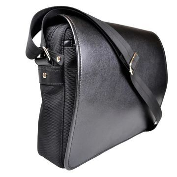 Royce Leather Saffiano Leatherry Laptop Messenger Bag