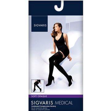 Sigvaris Women's Soft Opaque 841 Thigh High 15-20mmHg