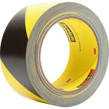 3M, MMM57022, Diagonal Stripe Safety Tape, 1 Roll, Black,Yellow