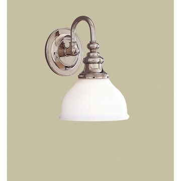 Hudson Valley Lighting Sutton 10 Inch Wall Sconce Sutton - 5901-PN - Transitional