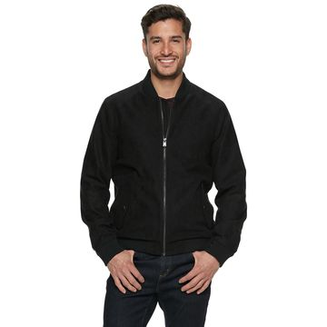 Men's Marc Anthony Modern-Fit Faux-Suede Bomber Jacket