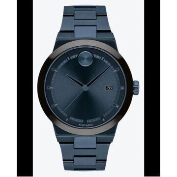 Movado Bold Blue Dial Steel Men's Watch 3600661 3600661