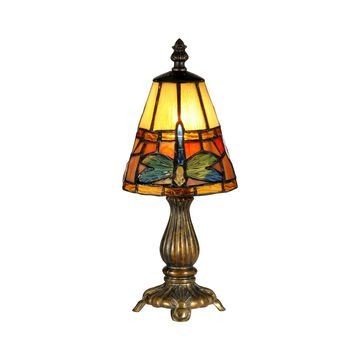Dale Tiffany Cone Dragonfly Accent Lamp
