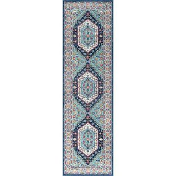 Bliss Rugs Amos Traditional Runner Rug