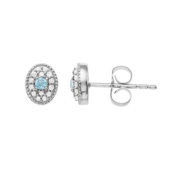 LC Lauren Conrad Gemstone Post Stud Earrings