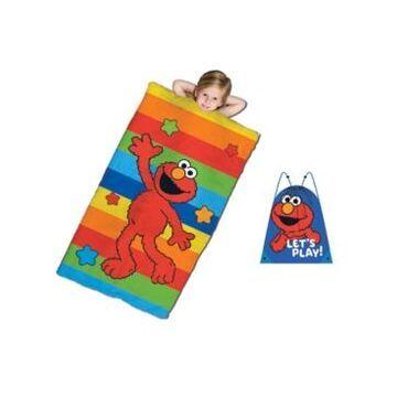 Sesame Street Slumber Sack Bedding