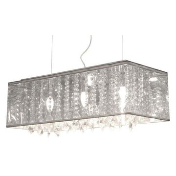 Zuo Modern Pure Blast 3 Light Marble Linear Chandelier