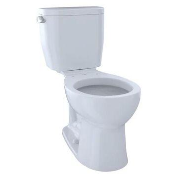 Toto Entrada Round 1.28 GPF Universal Height Toilet, Cotton White