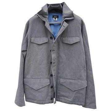 Apc \N Blue Cotton Coats
