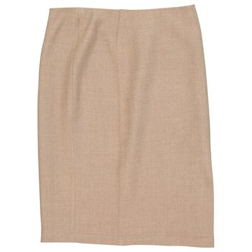 Thierry Mugler Beige Wool Skirts