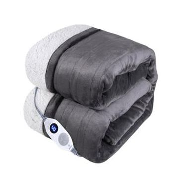 """Westinghouse Heated Throw in Micro Velour, 50"""" x 60"""" Bedding"""