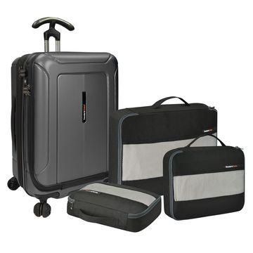 Barcelona 4PC Luggage Set w/ 22