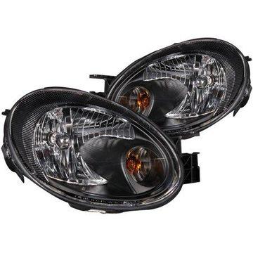 ANZO 2003-2005 Dodge Neon Crystal Headlights Black
