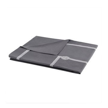 Natori - Sterling Dragon Cotton Sateen Duvet Cover - Grey - King