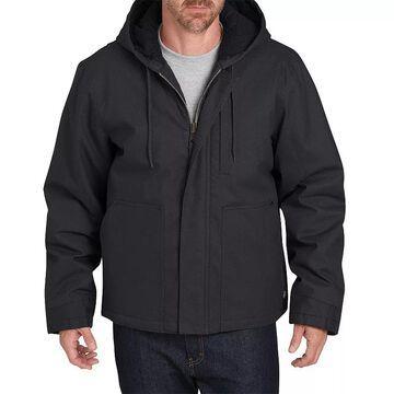 Men's Dickies Sanded Duck Flex Mobility Jacket, Size: Large, Black