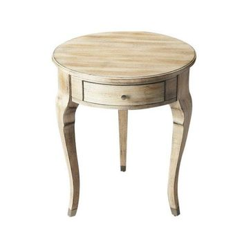 Butler Transitional Accent Table, Driftwood