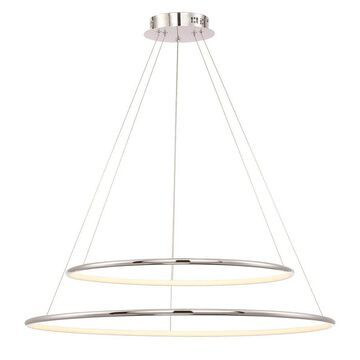 Eurofase Valley Oil Rubbed Bronze Modern/Contemporary Tiered LED Pendant Light