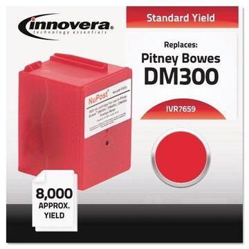 Innovera Compatible 765-9 Postage Meter Ink Red 7659