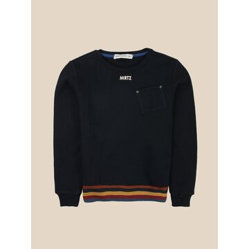 Manuel Ritz Crewneck Sweater With Pocket