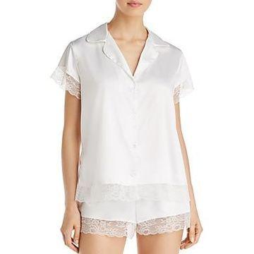 Eberjey One & Only Satin Short Pajama Set