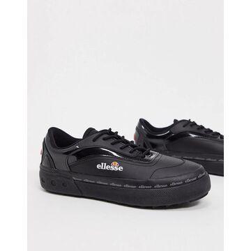 ellesse alzina sneakers in black