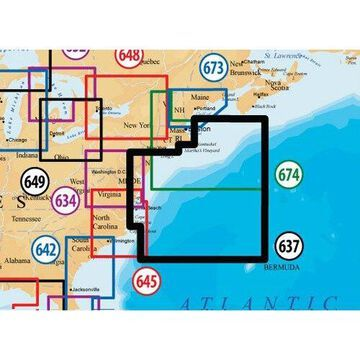Navionics Platinum Plus New Jersey and Delaware Nautical Charts For Humminbird Models New