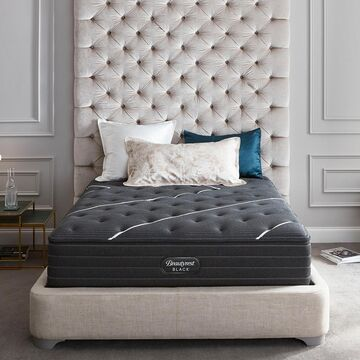 Beautyrest Queen Black C-Class 13.75 Inch Medium Mattress