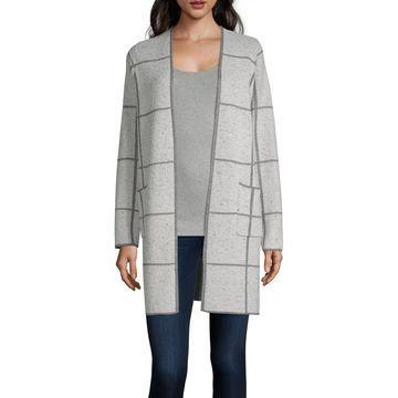Alyx Womens Long Sleeve Open Front Cardigan
