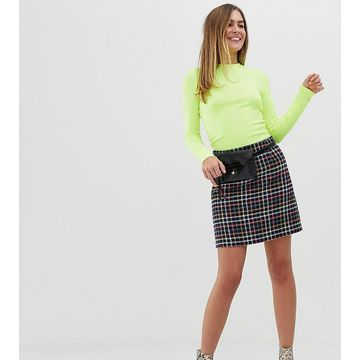 New Look mini skirt in check