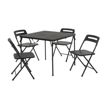 COSCO Tailgate Indoor / Outdoor Folding Table & Chair 5-Piece