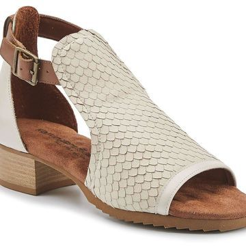 Walking Cradles Womens Chandra Leather Open Toe Casual Ankle