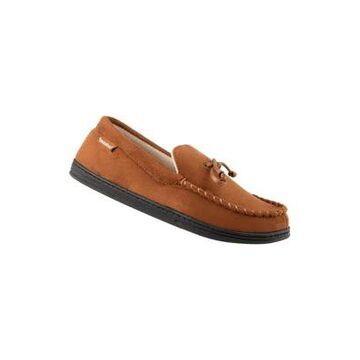 Isotoner Men's Microsuede Moccasin Slippers -