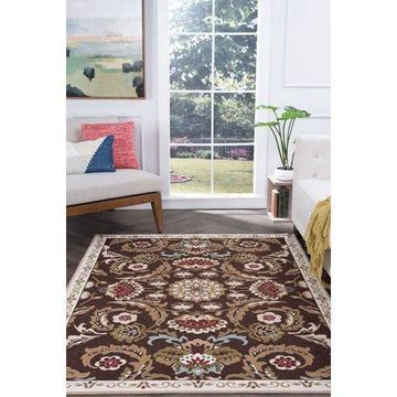 Bliss Rugs Gwenda Transitional Indoor Area Rug