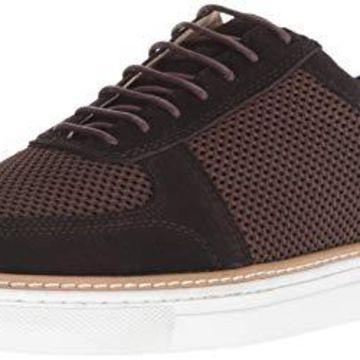 English Laundry Men's Landseer Fashion Sneaker, Brown, 11 M US