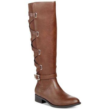 Thalia Sodi Womens Veronika Almond Toe Knee High Fashion