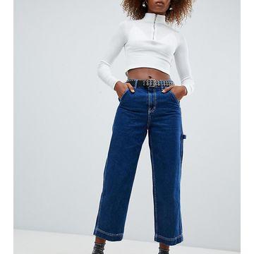 Bershka contrast stitch jeans