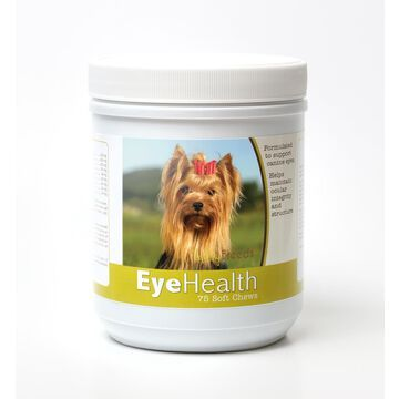 840235145059 Yorkshire Terrier Eye Health Soft Chews - 75 Count