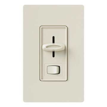 Lutron Skylark Single-Pole/3-Way Light Almond Slide Light Dimmer