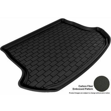 3D MAXpider 2009-2014 Nissan Murano All Weather Cargo Liner in Black with Carbon Fiber Look