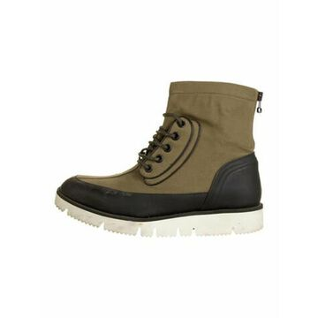 Oamc Aviator Boot Colorblock Pattern Hiking Boots Black Oamc Aviator Boot Colorblock Pattern Hiking Boots
