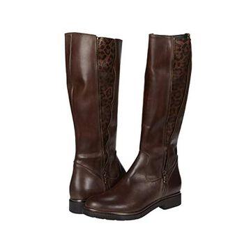 Sesto Meucci Giles (Tmoro Nappa/Brown Grelux Stretch) Women's Shoes
