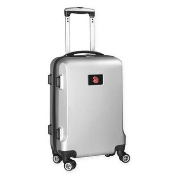 University of South Dakota 20-Inch Hardside Carry On Spinner in Silver