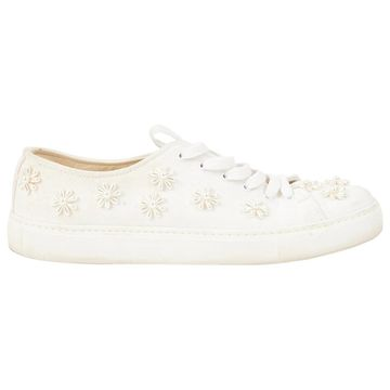 Simone Rocha \N White Cloth Trainers