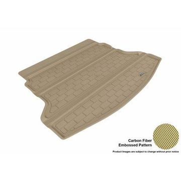 3D MAXpider 2012-2015 Honda CR-V All Weather Cargo Liner in Tan with Carbon Fiber Look