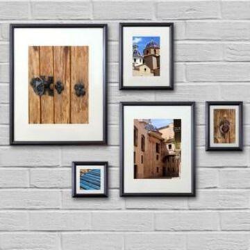 Black Frame Set By Studio Decor