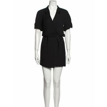 Vintage Mini Dress Black