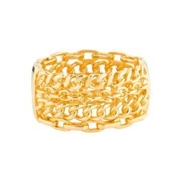 Chains Bangle Gold