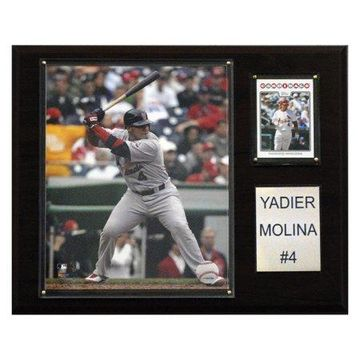 C&I Collectables MLB 12x15 Yadier Molina St. Louis Cardinals Player Plaque
