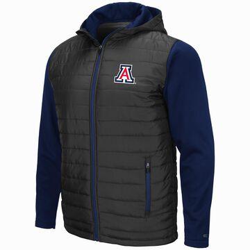 Mens NCAA Arizona Wildcats Everest Full Zip Jacket