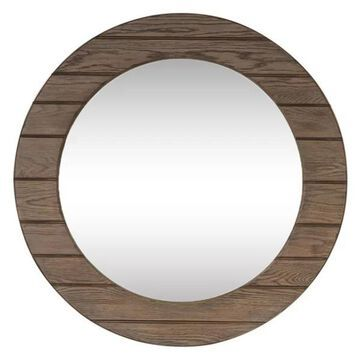 Liberty Furniture Heartland Round Mirror - Brown